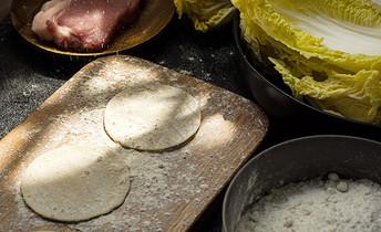 饺子食材图片