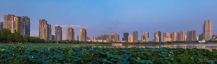 城市建筑风光全景图图片