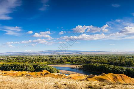 新疆五彩滩旅游美图图片