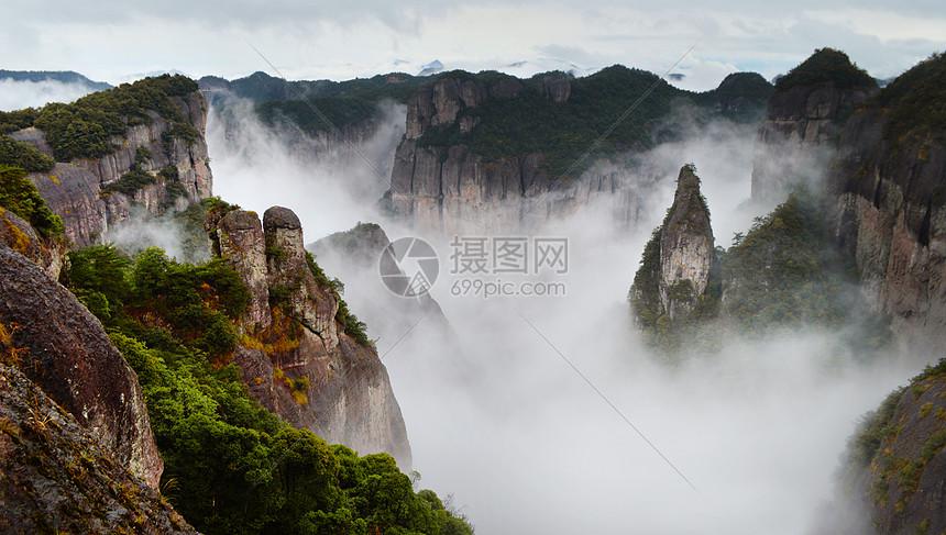浙江仙居县神仙居风景区