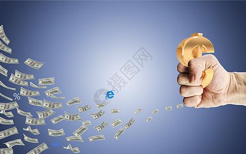 金融理财背景图片