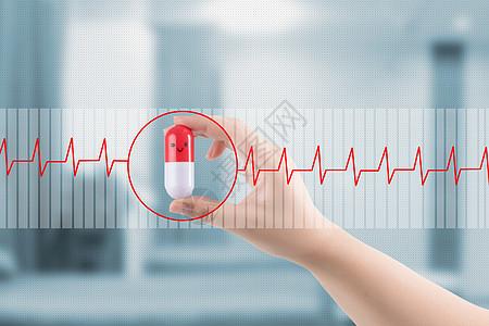 医疗科技背景图片
