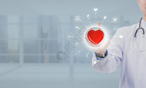 医生医疗科技背景图片