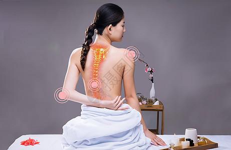 缓解腰背疼痛图片