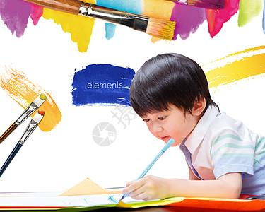 儿童美术教育图片
