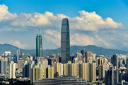 深圳罗湖地标城市建筑风光图片