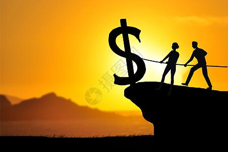 齐心协力挽救金融危机图片
