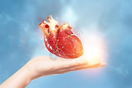 保护心脏概念图片