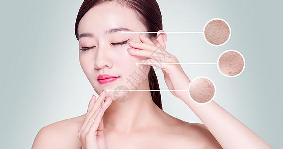美容护肤祛痘图片