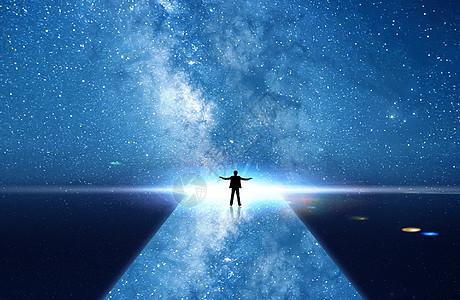 星空大道图片