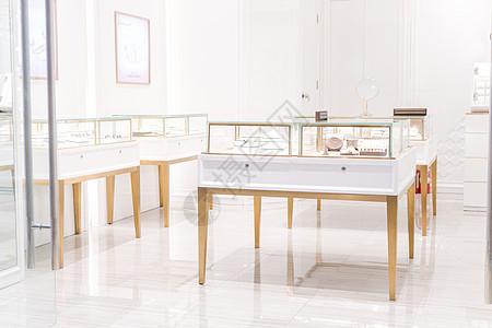珠宝柜台设计图片