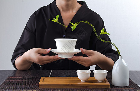 茶艺动作图片