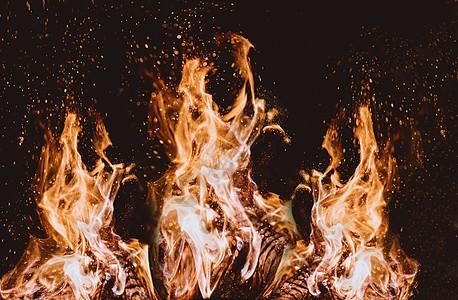 燃烧的火焰背景图片