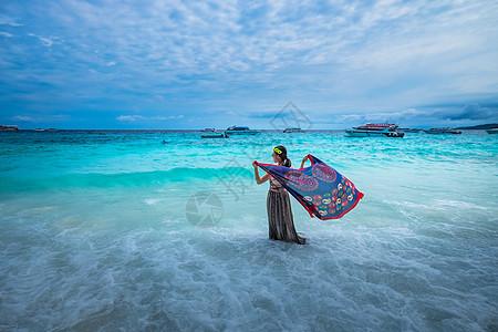 泰国普吉岛风光望海图片