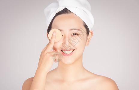 女性护肤美容图片