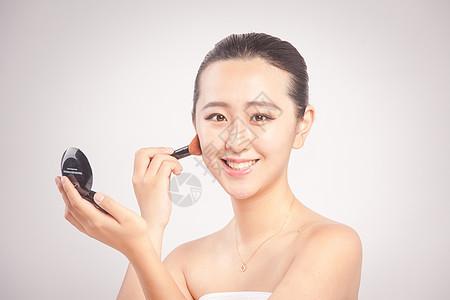 女性人像化妆图片