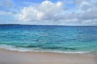 菲律宾白沙滩海滩唯美风景照图片