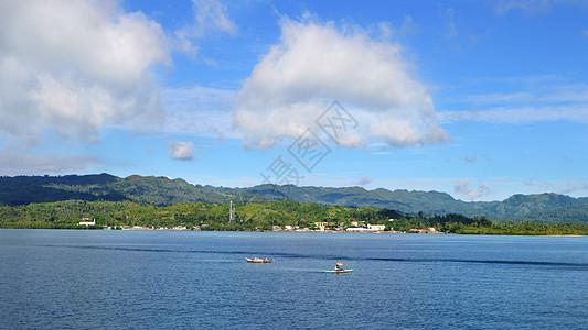 菲律宾唯美海峡海域照片图片