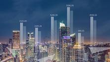 城市房价数据条图片