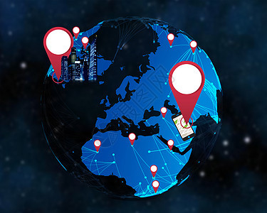 数字科技现代化商务互联网信息技术图片