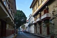 菲律宾马尼拉老城街景街道图片