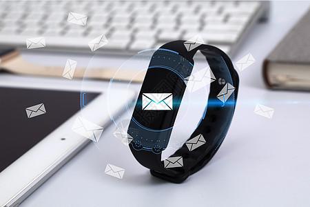 智能手表收短信图片