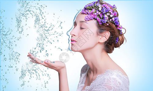 美容补水图片