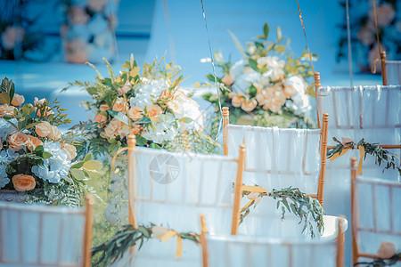 户外婚礼图片