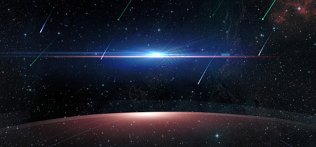 星空科技感背景图片