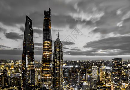 上海地标城市风光图片