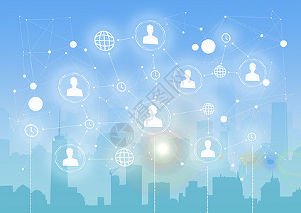 城市互联网科技图片