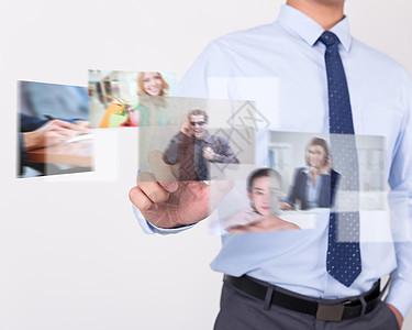 智能商务数字科技图片