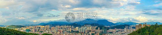 深圳城市建筑风光全景图片