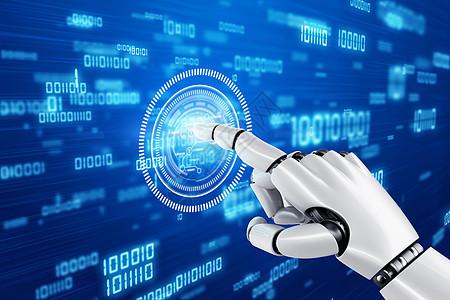机器人点击数字图片