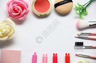 时尚美妆背景图图片