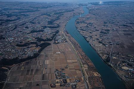 飞机上的东京图片