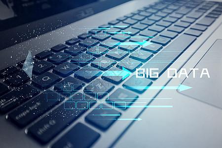 键盘背景大数据图片