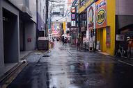 雨后大阪的街道图片