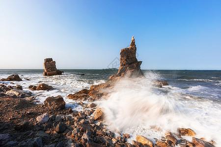 台风天海景图片