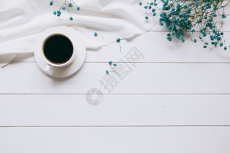 满天星咖啡白色木纹背景素材图片