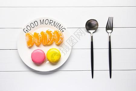 新鲜水果青桔白色背景图图片