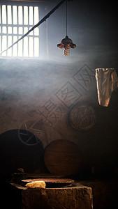 老房子的厨房图片