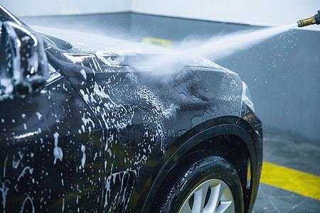 汽车美容洗车图片