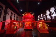 中国元素传统婚礼八抬大轿图片