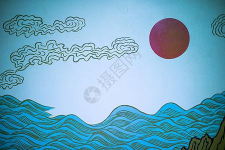 墙绘艺术图片