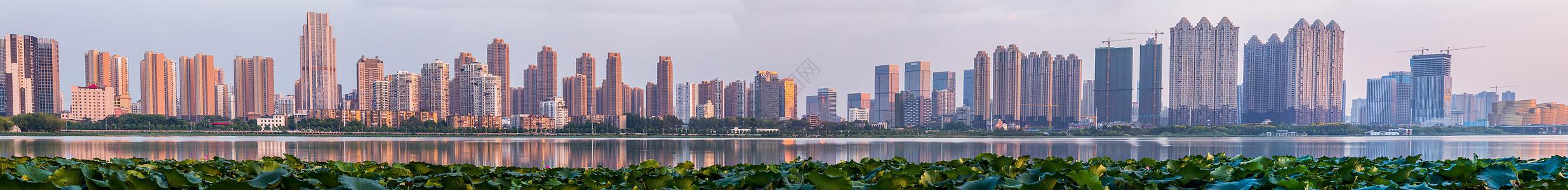 武汉城市建筑全景图图片