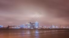 长江城市夜景图片