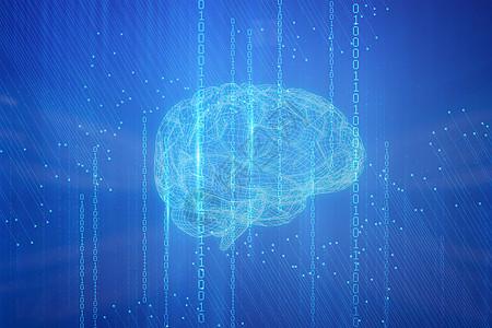 人工智能大脑研究高清图片