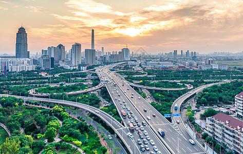 天津城市建筑风光图片