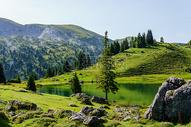 秀丽的青山绿水图片